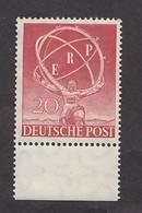 BERLIN Nr. 71 - ERP Postfrisch Unterrand  - KW 100 € - Berlin (West)