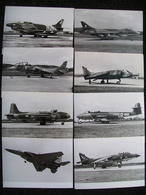 8 Foto AEROPLANI MILITARI - Aviation