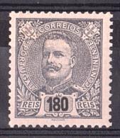 Portugal - 1895/1905 - N° 142 - Neuf * - Charles 1er - 1892-1898: D.Carlos I