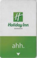 Holiday Inn Bangkok Ahh  --Hotel Room Keycard, Room Keys, Hotelkarte, Clef De Hotel--  2151 - Hotel Keycards