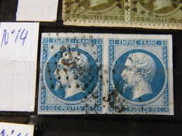 Paire Napolen  N 14 - 1849-1850 Ceres