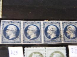 Paire De 4  Napolen  N 14 B - 1849-1850 Ceres
