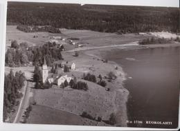 RUOKOLAHTI AERIAL VIEW FINLAND SUOMI STAMP CANCELLATION 1966 - Finland