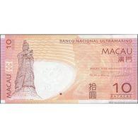 TWN - MACAU B.N.U. 80c2 - 10 Patacas 11.11.2013 Prefix CU UNC - Macau