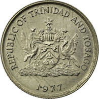 Monnaie, TRINIDAD & TOBAGO, 10 Cents, 1977, TTB, Copper-nickel, KM:31 - Trinidad & Tobago