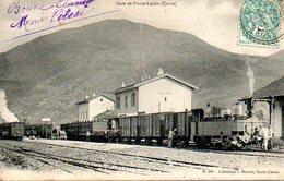 Corse : Morosaglia (20) : Gare De Ponte Leccia - France
