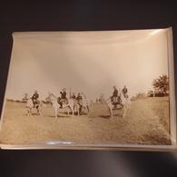 Photo Originale Militaria Maroc Vers 1910 Autorités à Cheval Général Lyautey ? - Guerre, Militaire