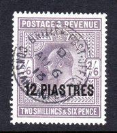 British Levant EDV11 12 Piastres On 2/6 Stamps. - British Levant