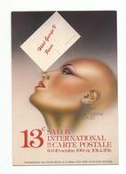 CLUB CARTOPHILE .... BOURSE SALON ...13e Salon International De La CARTE POSTALE  HOTEL GEORGES 5 PARIS - Bourses & Salons De Collections