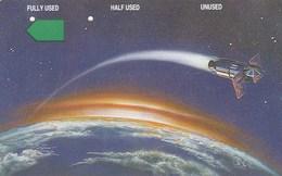 Christmas Island - Satellite Orbiting The Earth - Christmas Island