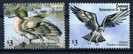 Serie Set Oiseaux Birds  Neuf  MNH ** Canouan Grenadines Et St Vincent 2011 - Autres