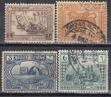 IRAK 1923 - MiNr: 20-22-23+25   Used - Irak
