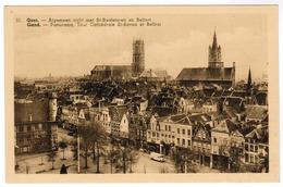 Gent, Gand, Algemeen Zicht Met St Baafstoren En Belfort (pk55397) - Gent