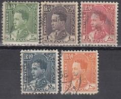 IRAK 1934 - MiNr: 79 - 96 Lot 5x   Used - Irak