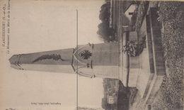 Hardricourt : Le Monument Aux Morts De La Guerre - Hardricourt
