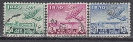 IRAK 1949 - MiNr: 149 - 156  Lot 3x   Used - Irak