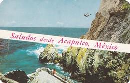 CARTOLINA - MESSICO - SALUDOS DESDE ACAPULCO - Messico