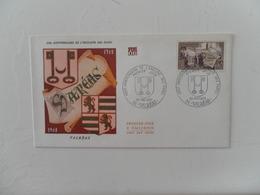 FRANCE FDC YT 1562 ENCLAVE DES PAPES DE VALREAS - 1960-1969