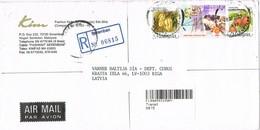 31631. Carta Aerea Certificada SEREMBAN (Negri Sembilan) Malaysia 2001 - Malasia (1964-...)