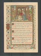 Holy Card.  Goldprint - Religion & Esotérisme