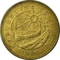 Monnaie, Malte, Cent, 1986, TTB, Nickel-brass, KM:78 - Malta