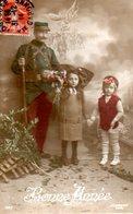 Militaria : Guerre 14 18 Bonne Année 1915 - Humor