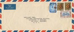 31633. Carta Aerea COLOMBO (Ceylan) 1969. To USA - Sri Lanka (Ceilán) (1948-...)
