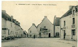 44 - HERBIGNAC - Place De L'église, Route De St Nazaire - Herbignac