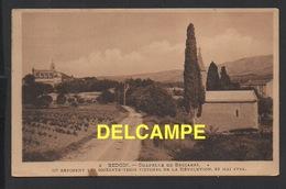 DD / 84 VAUCLUSE / BEDOIN / CHAPELLE DE BECCARAS OÙ REPOSENT LES 63 VICTIMES DE LA RÉVOLUTION / 1938 - Andere Gemeenten