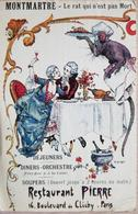France Montmartre Restaurant Pierre 1926 - France