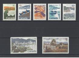 CANADA. YT  N° 471/477   Neuf **  1972 - 1952-.... Règne D'Elizabeth II