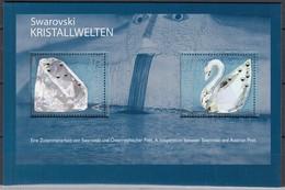 ÖSTERREICH Block 25, Postfrisch **, Glaskunstausstellung, Swarovski 2004 - Blocks & Kleinbögen