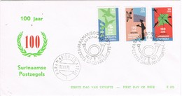 31638. Carta F.D.C. PARAMARIBO (Suriname) 1973. Surinaamse Postzegels. Correos, Cartero - Surinam ... - 1975