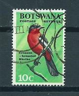 1967 Botswana Birds,oiseaux,vögel,vogels Used/gebruikt/oblitere - Botswana (1966-...)