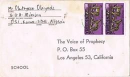 31639. Carta MISSION, Osi (Nigeria) 1975 To USA - Nigeria (1961-...)