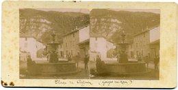 Photos Stéréoscopiques - Isère 38 - Place De  Cognin - Gorges Du  Nan   ( A 17 ) - Fotos Estereoscópicas