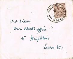 31640. Carta BAILE AN BRIADHTAIGH (Irlanda) Eire 1945 To London - 1937-1949 Éire