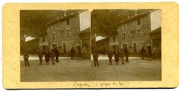 Photos Stéréoscopiques - Isère 38 -   Cognin - Café  Revol  -  Gorges Du  Nan   ( A 18 ) - Stereo-Photographie