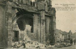 CPA -  LACROIX-SUR-MEUSE (G.14/18) - EGLISE BOMBARDEE - France