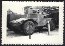 Guerre 1940-1945, Auto Mitrailleuse à Identifier! , Photo Véritable - War, Military