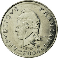 Monnaie, French Polynesia, 10 Francs, 2004, Paris, SUP, Nickel, KM:8 - Frans-Polynesië
