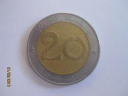 Algérie: 20 Dinars 1992 Lion - Algérie