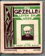 Guido Gezelle Uit  Gezelle's Leven En Werk Door Prof Dr FR Baur 204 Blz   Boek - Oud