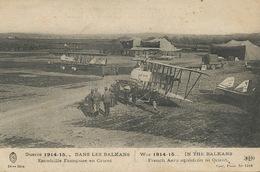 Guerre Balkans  Escadrille Française Guerre 1914 WWI ELD Biplan - 1914-1918: 1ère Guerre