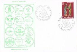 31643. Tarjeta Luxembourg 1973. CARITAS, Cachet Especial - Luxemburgo