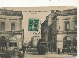 Tramway Tram à Chalons Sur Marne - Tramways