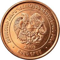 Monnaie, Armenia, 20 Dram, 2003, SUP, Copper Plated Steel, KM:93 - Arménie