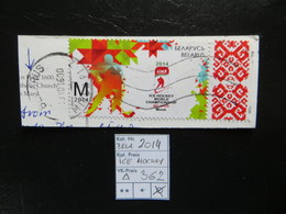 """2014  """" ICE-Hocky """" Aus Bogenrand Echt Gelaufen Gut Gestempelt,   LOT 362 - Belarus"""