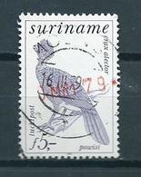 1979 Suriname Birds,oiseaux,vögel,vogels Used/gebruikt/oblitere - Suriname
