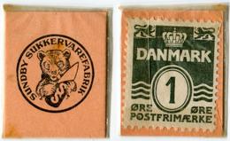 N93-0577 - Timbre-monnaie - Danemark - Denmark - Sundby Sukkervarefabrik - 1 Ore - Kapselgeld - Encased Stamp - Monétaires / De Nécessité
